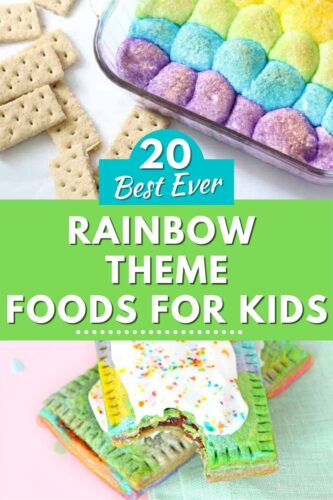 20 Best Ever Rainbow Theme Foods for Kids
