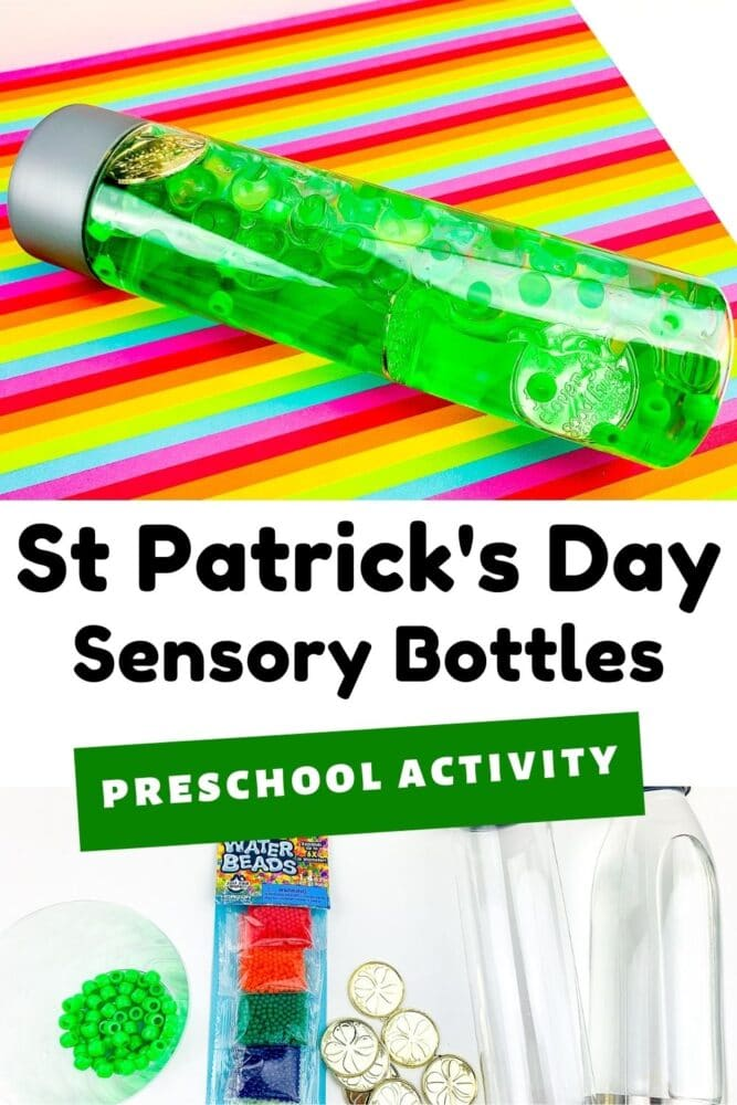 St. Patrick's Day Sensory Bottles
