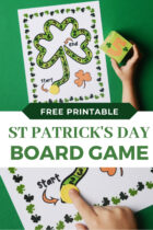 Free Printable St Patrick's Day Board Game