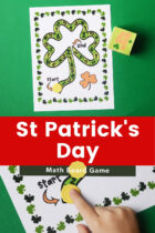 St Patrick's Day Math Board Game
