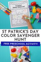St Patrick's Day Color Scavenger Hunt