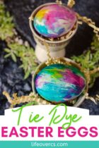 Easter Eggs Tie Dyed
