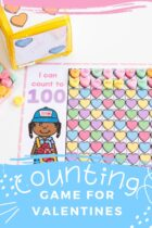 Free Printable Counting Games for Valentines