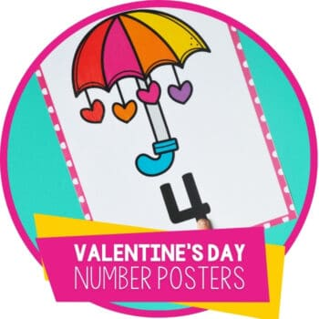 Valentine's Day Number Posters Featured Image