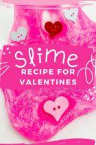 Slime Recipe for Valentines