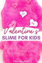 Valentine's Slime for Kids