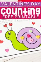 Valentine's Day Counting Free Printable