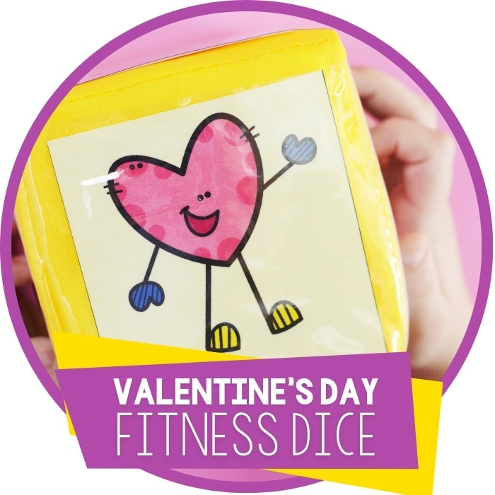 Valentine's Fitness Dice Featured Square Image