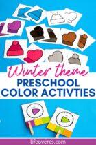 Winter Theme Preschool Color Activities