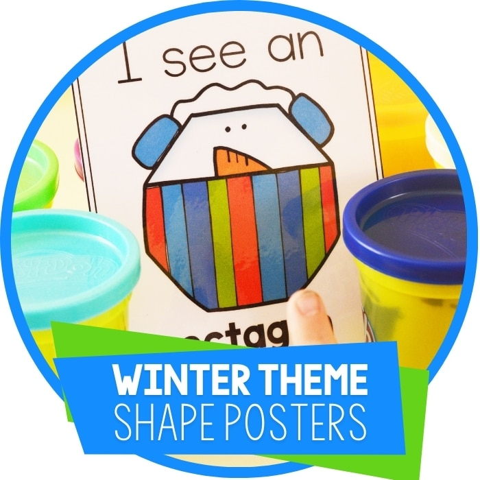 Winter Shape Posters Featured Image