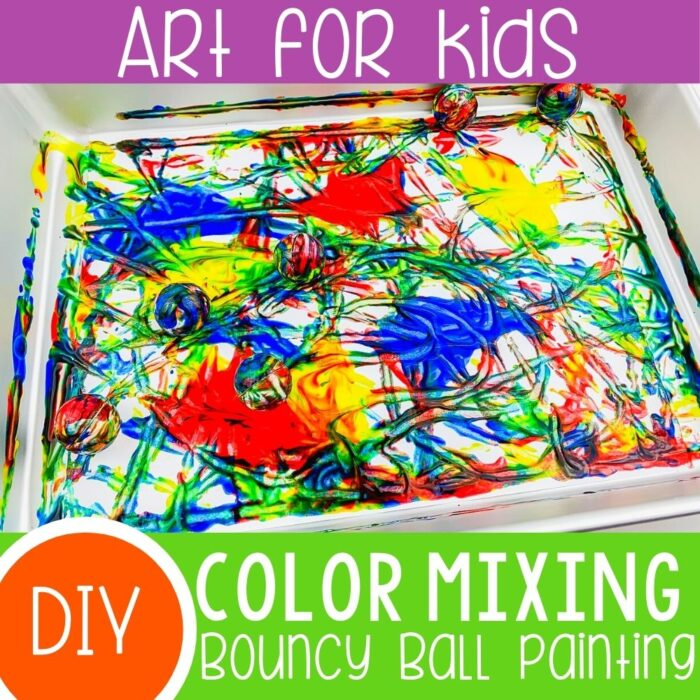 Color Mixing Preschool Activity