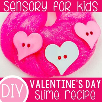 Valentine's Day Slime Recipe featured square image