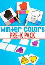 Pre-K Winter Colors Pack