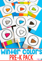 Winter Colors Pack for Pre-K