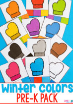 Winter Colors Pre-K Printable Pack