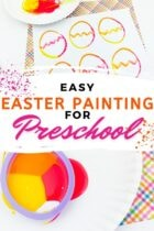 Easy Easter Painting for Preschool