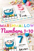 Counting to 10 for preschoolers.