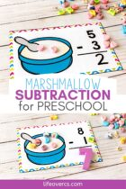 Marshmallow Subtraction for Preschool