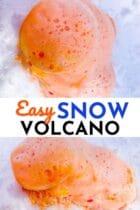 Easy Snow Volcano Activity