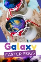 Easy Galaxy Easter Eggs