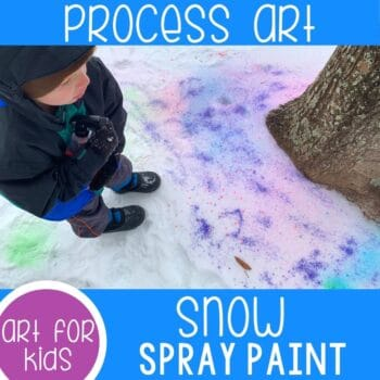 Snow Spray Paint Winter Art featured square image