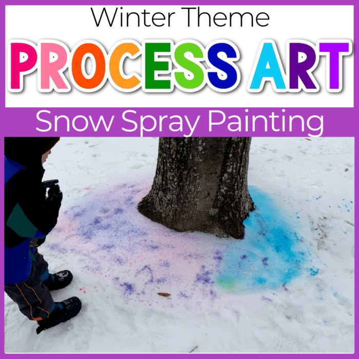 Snow Spray Paint Winter Art featured image