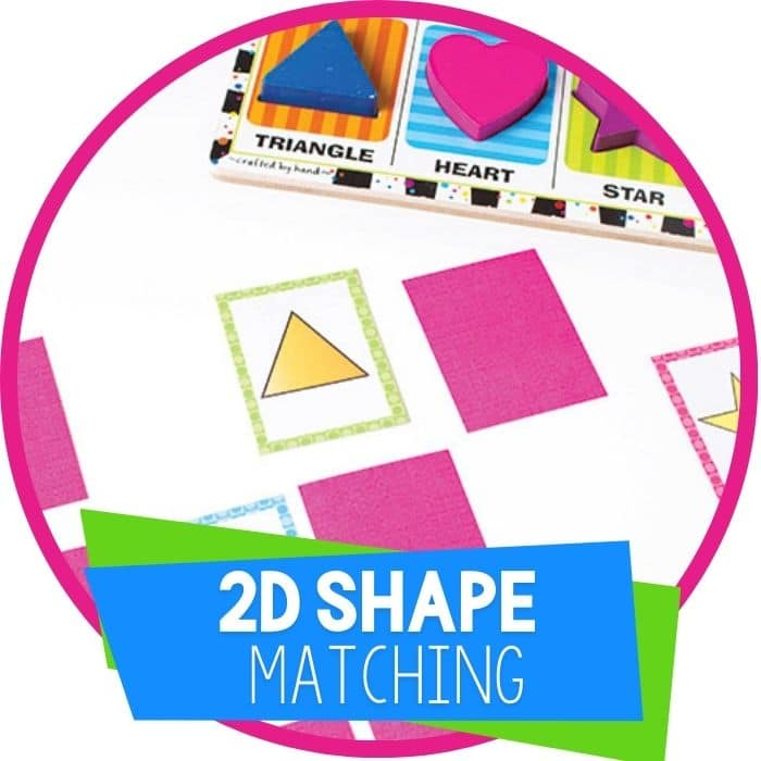 Puzzle & Shape Matching Cards