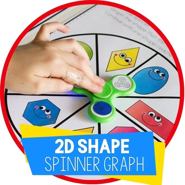 Fidget Spinner 2D Shape Graph Free Printable