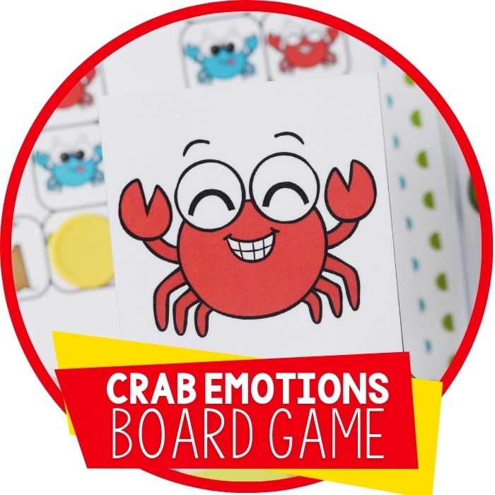 Preschool Emotions Printables Summer Theme Board Game