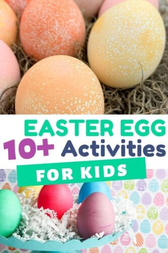 10+ Easter Egg Activities for Kids
