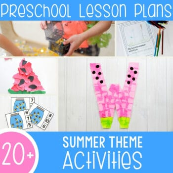 Fun Summer Lesson Plans for Preschool Featured Square Image