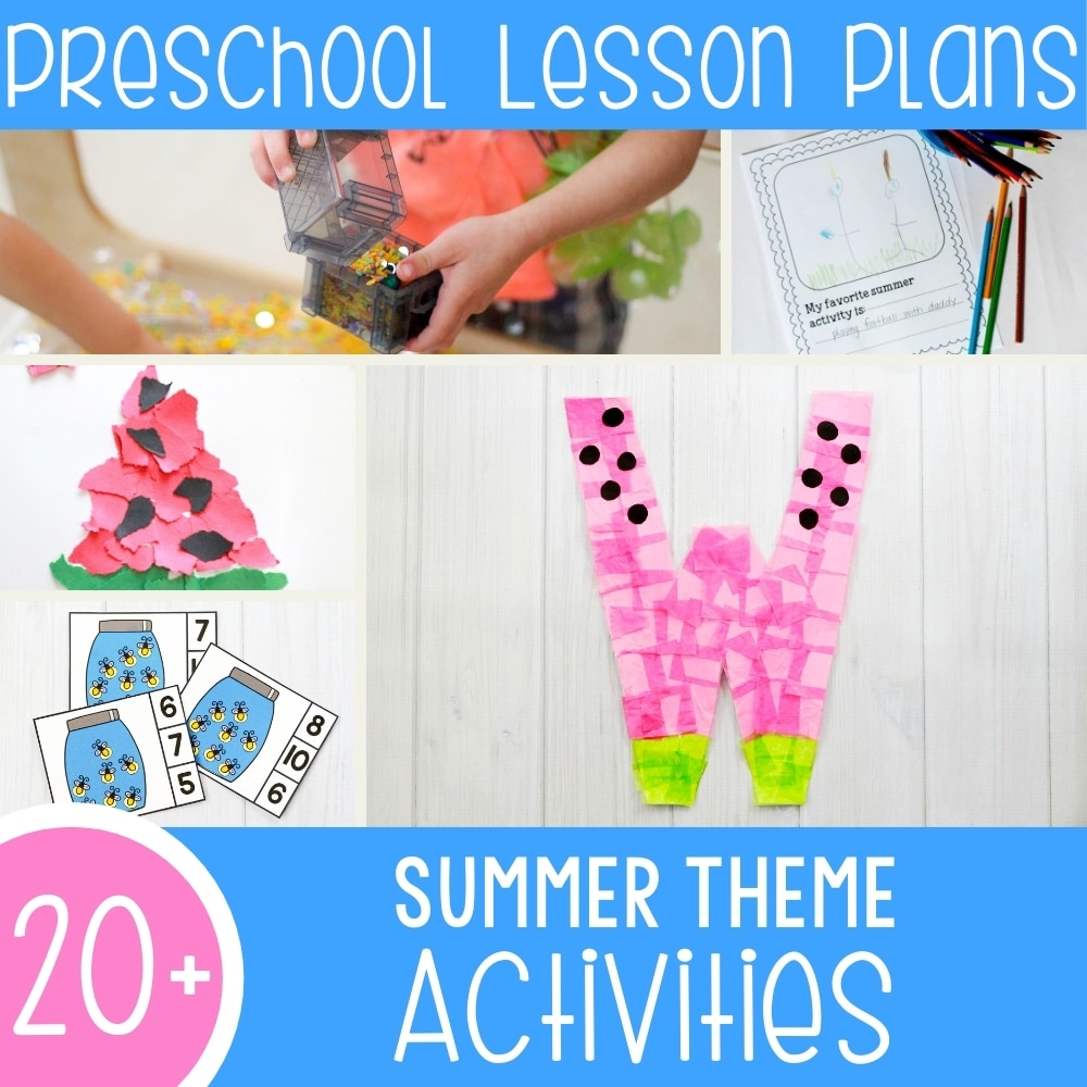 Fun Summer Lesson Plans for Preschool