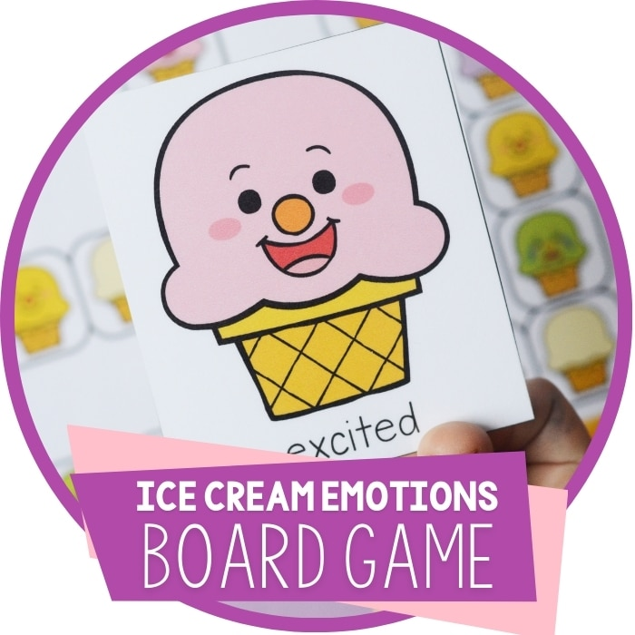 Ice Cream Emotions Board Game Featured Image