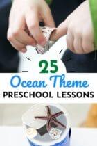 25 Ocean Theme Preschool Lessons