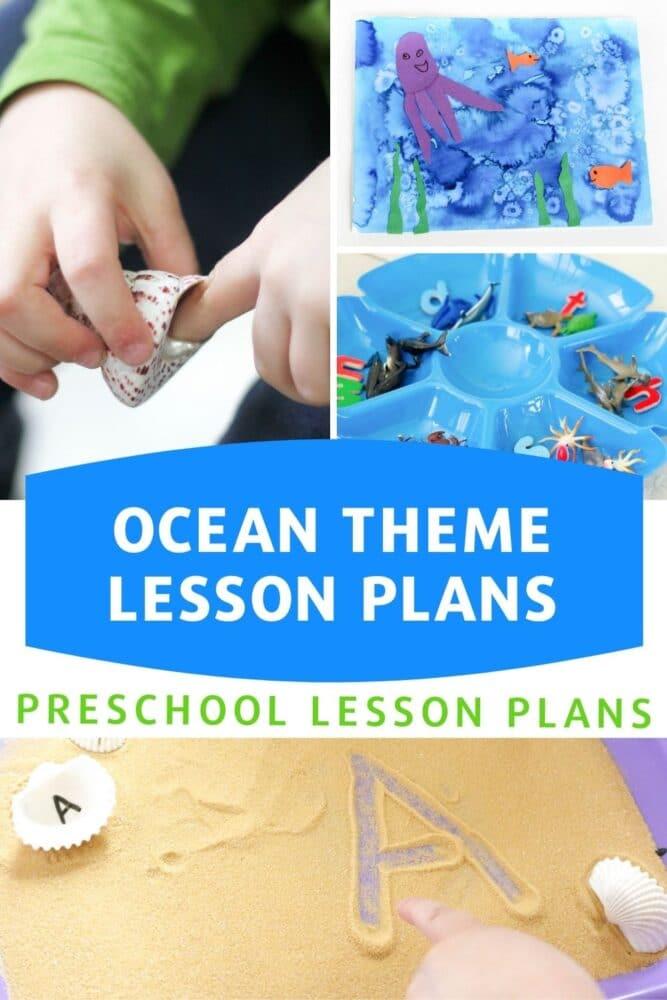 Ocean Theme Lesson Plans for Preschool