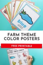 Free Farm Theme Color Posters