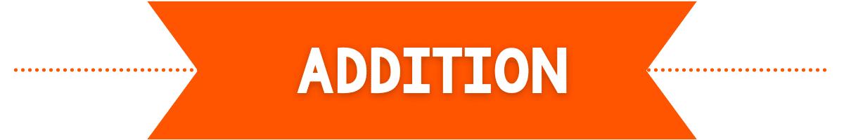 addition banner image