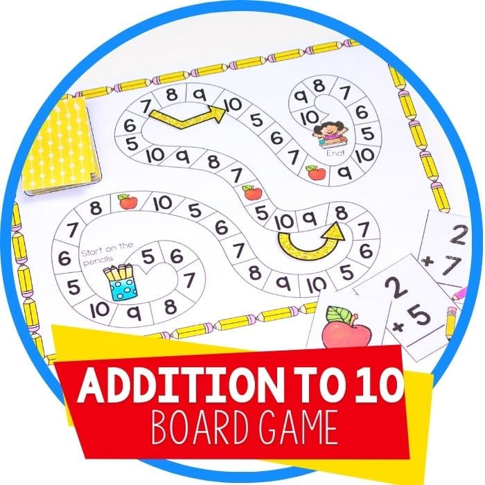 Free Addition Facts Game