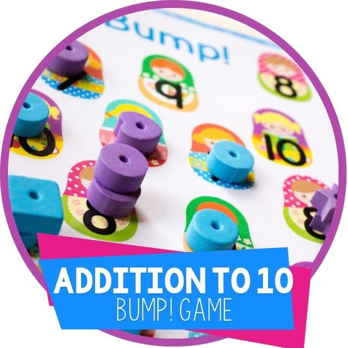 Free Printable Addition Game: Adding to 10