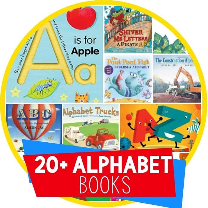 alphabet books for kids featured image