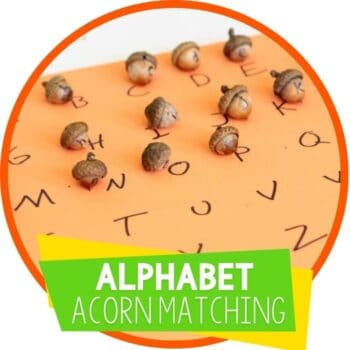 alphabet fall acorn matching game featured image