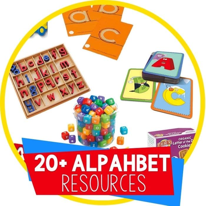 25+ Simple Alphabet Manipulatives for Kids