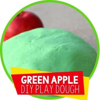 apple play dough green apple scent Featured Image