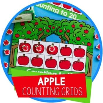 apple counting grids featured image