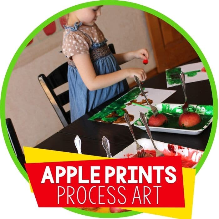 apple painting process art with condensed milk Featured Image