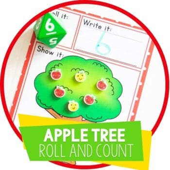 apple tree roll and count featured image