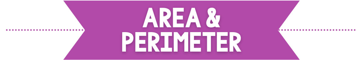 area and perimeter banner image