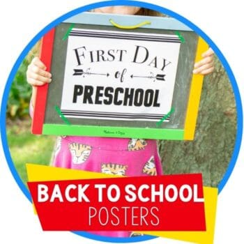 back to school posters bw featured image