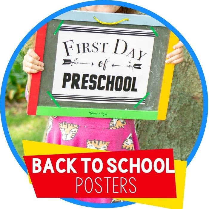 How To Make First Day Of Homeschool Memorable + Free Printable Sign