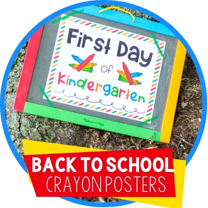 back to school posters crayons featured image